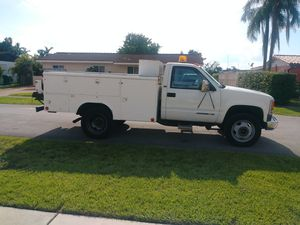 CHEVROLET CHEVY SILVERADO 3500 SERVICE BODY TRUCK DIESEL UTILITY for Sale in Olympia Heights, FL