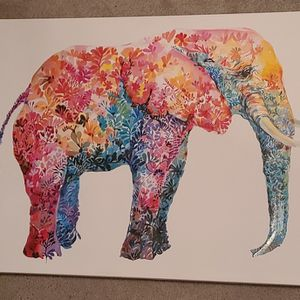 Canvas Elephant Photo for Sale in Reed, KY