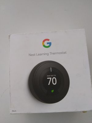 Google nest learning thermostat open box sell trade for Sale in San Diego, CA