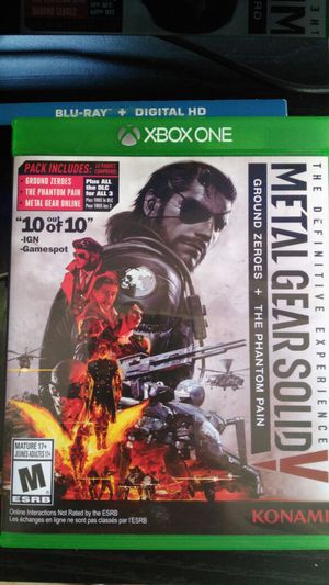 (Metal Gear Solid ) 2 game in one Ground Zeroes & The Phantom Pain for Sale in Avon Park, FL