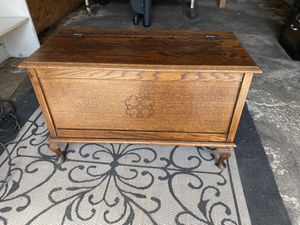 Gorgeous antique storage chest. Pick up in Tustin for Sale in Tustin, CA