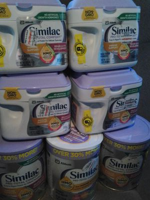 Similac Pro total comfort for Sale in Milton, WA
