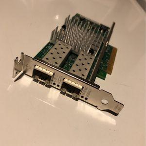 Intel 10gb Eth Adapter X520-DA2 for Sale in McCook, IL