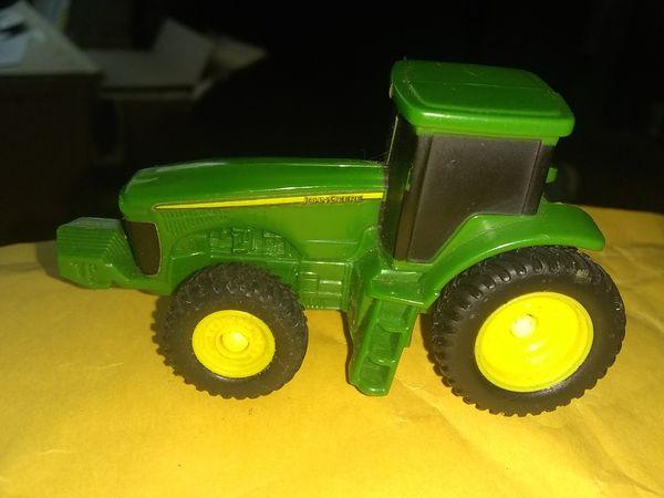 Little mini version of John Deere tractor