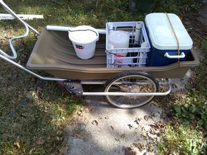 Beach and pear fishing cart for Sale in Greensboro, NC