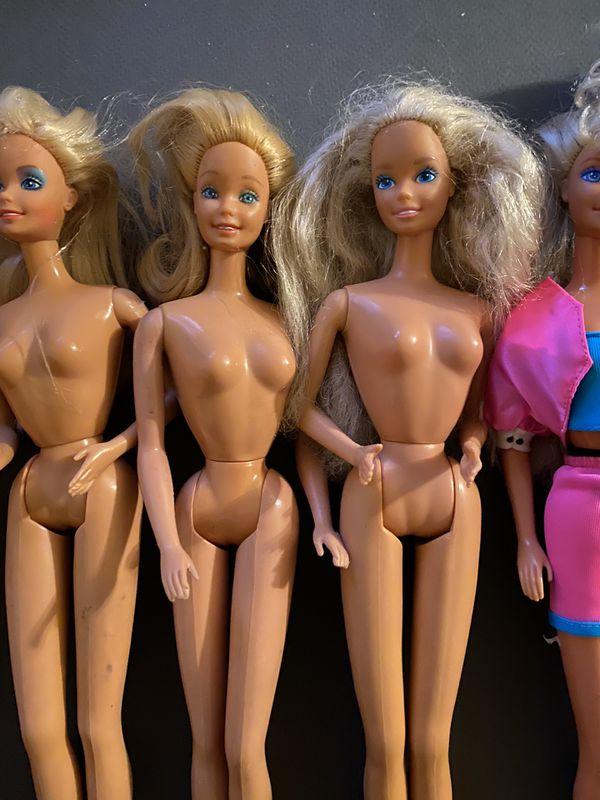 VINTAGE 1960's Barbie doll lot of 8