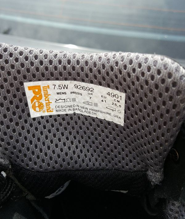 Timberland Pro Resistor 6 Mens