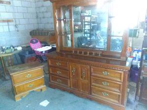 Bedroom furniture, dresser, mirror and nightstand for Sale in Ashland, VA