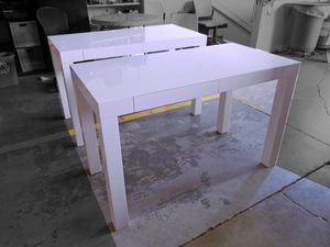 West Elm White Parsons Desks for Sale in Miami, FL