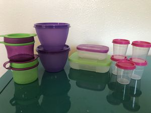 Tupperware small storage containers for Sale in Winter Garden, FL