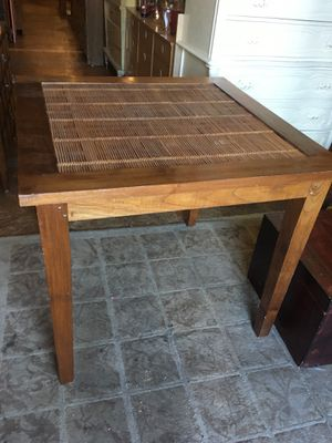 Pub height table plant stand for Sale in San Diego, CA