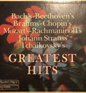 Readers Digest Greatest Hits Classical 8 LP Bach Beethoven's ..Tchaikovsky's for Sale in Queens, NY