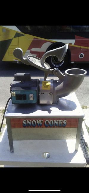 SNOW BALL MACHANIC for Sale in Baltimore, MD