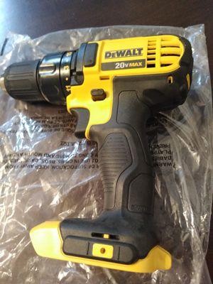 20 volt brand new DeWalt drill for Sale in Madera, CA