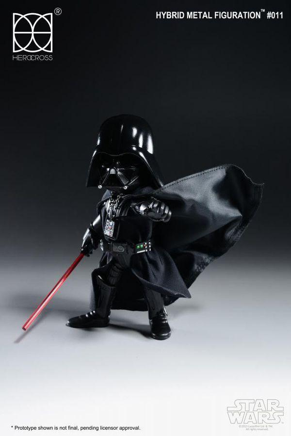 Star Wars Darth Vader Hybrid Metal Action Figure (Rare)