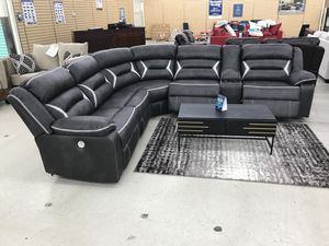 BRAND NEW POWER SECTIONAL SOFA WITH 3 SEATS RECLINERS AND USB PORT for Sale in North Richland Hills, TX