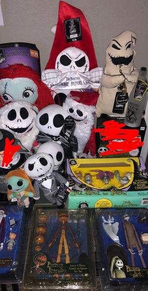 Nightmare before Christmas items for Sale in Henderson, NV