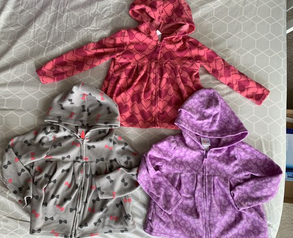 Baby girl jackets (size 3T)