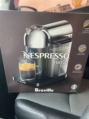 Nespresso Vertuo Coffee & Espresso Machine by Breville for Sale in Auburn, WA
