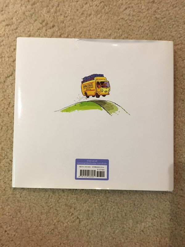 """Brand New Kids Book """"Going Places"""" by Peter and Paul Reynolds"""