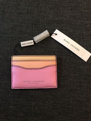 MARC Jacobs New York wallet card holder pink leather for Sale in Pembroke Pines, FL