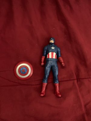 Small Captain america and sheild for Sale in Anaheim, CA