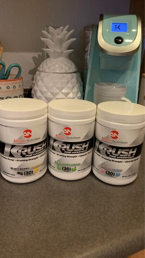 Pre Workout - Allister Nutrition $10/30 servings for Sale in Peoria, AZ