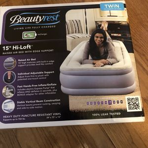 Beauty Rest Air Bed for Sale in Germantown, MD