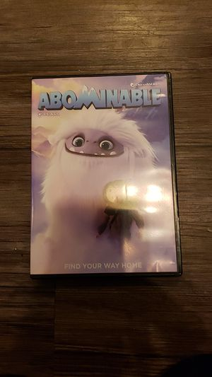 Abominable dvd for Sale in Whittier, CA
