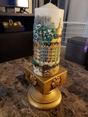 Candle and holder for Sale in Stafford, VA