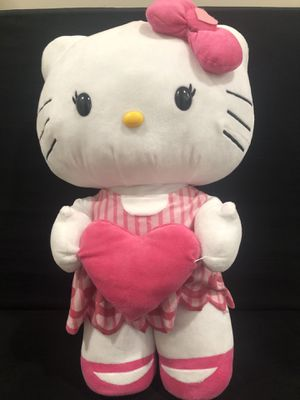 "Large Hello Kitty Plush Pink Bow 24"" for Sale in Harmony, PA"