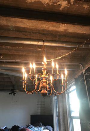 Refurbished gold chandelier for Sale in Denver, CO