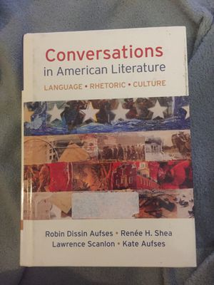 conversations in american literature for Sale in Long Beach, CA