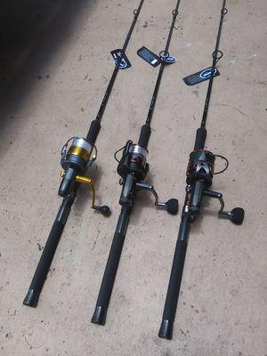 New okuma baitrunner combos...175.00 each....100.00 reel only for Sale in Pembroke Pines, FL