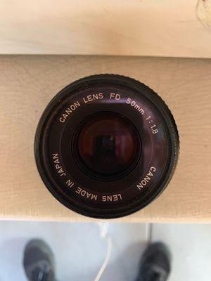 Canon T50 lens for Sale in Pasadena, CA