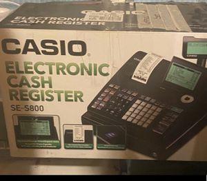 Casio cash register for Sale in Lancaster, PA