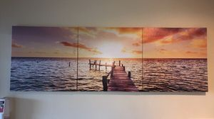 3 Piece Sunset Canvas Print for Sale in Rockville, MD