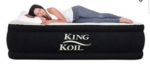 King Koil California King Air Mattress for Sale in Manassas Park, VA