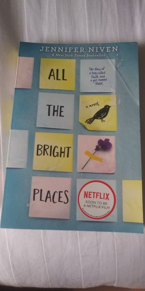 All the bright places By Jennifer Niven for Sale in NEW PRT RCHY, FL