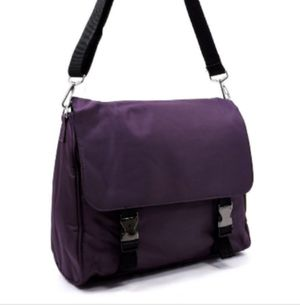 NEW Dark Purple Messenger/Laptop For School/Work/Traveling/Everyday Use $9 for Sale in Carson, CA