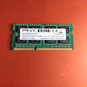 PNY 8GB DDR3 1600 PC3-12800 1.35V SO-DIMM Laptop Memory for Sale in Hillsboro, OR