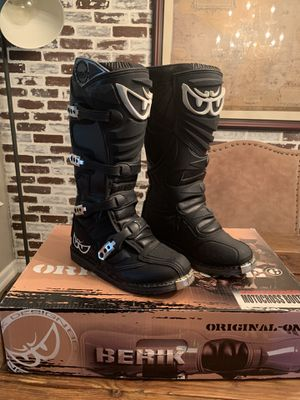 Berik Dirt Bike Atv Motocross Boots for Sale in Costa Mesa, CA