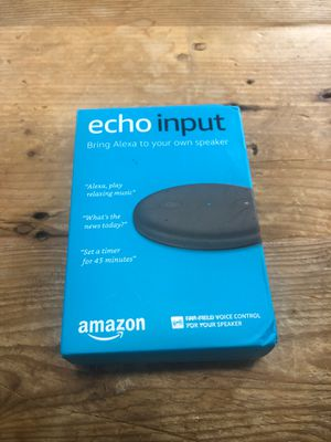 Amazon Echo Input - bring Alexa to to your own speaker for Sale in Ellicott City, MD
