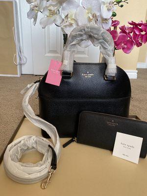 Kate Kate spade crossbody handbag purse bag satchel with matching wallet new set for Sale in San Antonio, TX