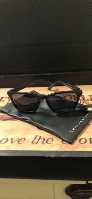 Quay Matte Black Hardwire Sunglasses, New for Sale in San Diego, CA