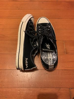 Suicidal Tendencies Converse men's 10.5 for Sale in Portland, OR