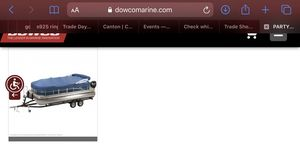 Dowco Pontoon cover for Sale in Athens, TX