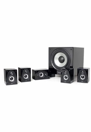 Klipsch Energy RC-Micro 5.1 Surround Home theater Speaker System (Black) for Sale in Houston, TX