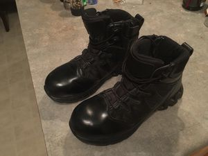 Reebok police men's boots with composite toe for Sale in Phoenix, AZ