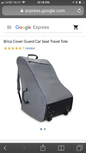 Brand new car seat travel case/bag for Sale in Torrance, CA